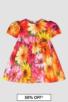 Dolce & Gabbana Kids Baby Girls Pink Dress