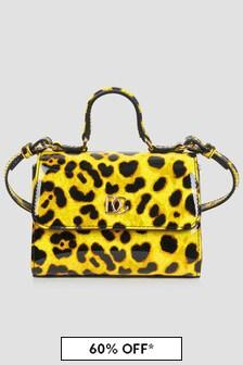Dolce & Gabbana Kids Girls Animal Print Bag