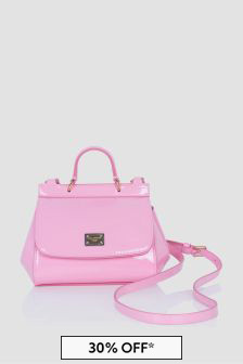 Dolce & Gabbana Kids Girls Pink Bag