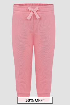Dolce & Gabbana Kids Baby Girls Pink Joggers