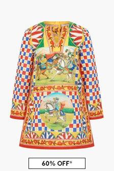 Dolce & Gabbana Kids Girls Multi Dress
