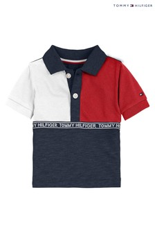 Tommy Hilfiger Baby Colourblock Polo Shirt