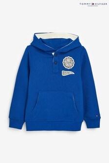 Tommy Hilfiger Appliqué Hooded Sweatshirt
