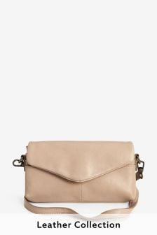 Leather Phone Purse Across-Body Bag