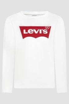 Levis Kidswear Girls White T-Shirt