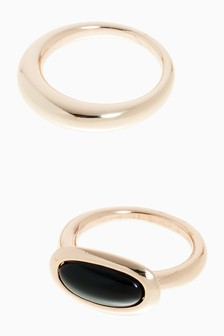Semi-Precious Stone Ring Pack