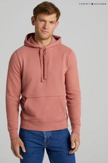Tommy Hilfiger Pink Recycled Cotton Hoodie