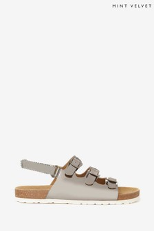 Mint Velvet Silver Buckled Sandals