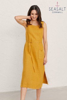 Seasalt Cornwall Yellow Sketch Pad Dress