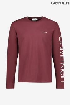 Calvin Klein Logo Long Sleeve T-Shirt