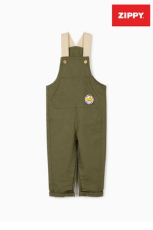 Zippy Green Welcome To Egypt Dungarees