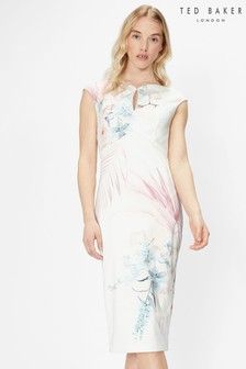 Ted Baker Soozie Serendipity Printed Bodycon Dress