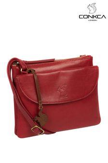 Conkca Tillie Leather Cross-Body Bag