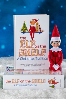 The Elf on the Shelf Christmas Tradition: Includes One Scout Elf Boy, Blue Eyes