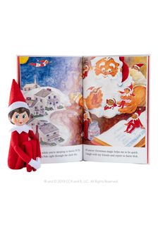 The Elf on the Shelf Christmas Tradition: Includes One Scout Elf Girl, Blue Eyes