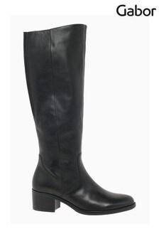 Gabor Isla Medim Calf Fit Leather Long Boots