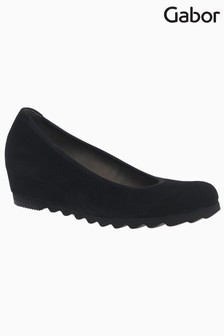Gabor Request Suede Wedge Shoes