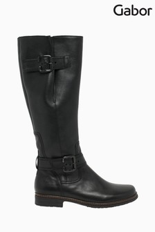 Gabor Nevada Black M Vario Calf Fit Boots