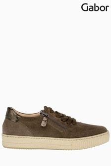 Gabor Trumbo Tartufo Suede Casual Shoes