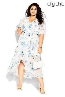City Chic Shy Orchid Maxi Dress