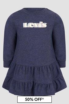 Levis Kidswear Baby Girls Navy Dress