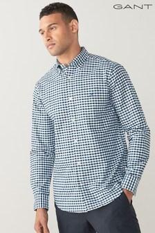 GANT Regular Oxford 2 Colour Gingham Shirt
