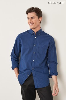 GANT Regular Broadcloth 2 Colour Gingham Shirt
