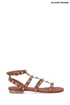 KG Kurt Geiger Natural Rubble Sandals