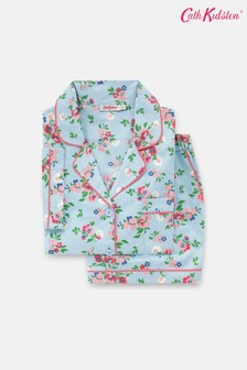 Cath Kidston Summer Floral Short Woven Pyjama Set