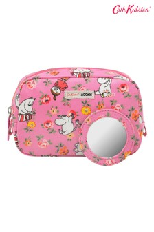 Cath Kidston Moomin Linen Sprig Classic Make-Up Case
