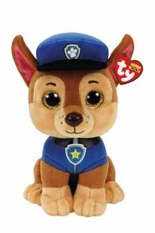 """TY PAW Patrol Chase Medium 10"""" Soft Toy"""