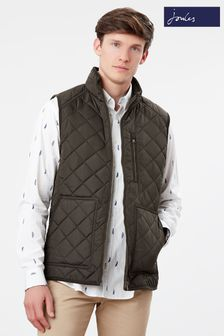 Joules Halesworth Quilted Fleece Lined Gilet