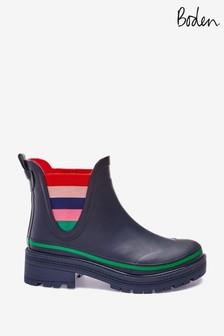 Boden Blue Bamburgh Wellington Boots