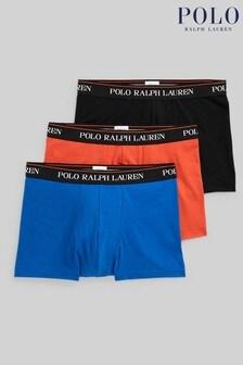 Polo Ralph Mens Lauren Boxers 3 Pack