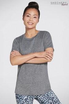 Skechers Charcoal Grey Godri Essential T-Shirt
