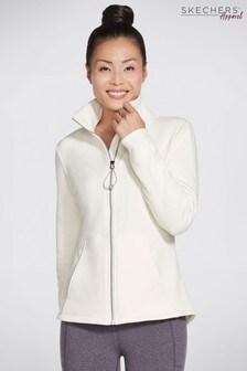 Skechers White Gosnuggle Jacket