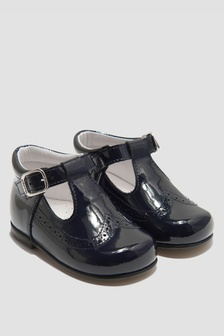 Andanines Boys Navy Shoes