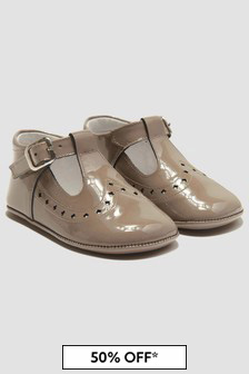 Andanines Baby Girls Beige Shoes