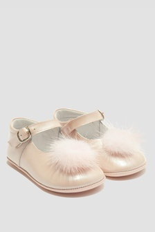 Andanines Baby Girls Pink Pumps