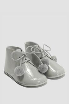 Andanines Baby Unisex Light Grey Shoes