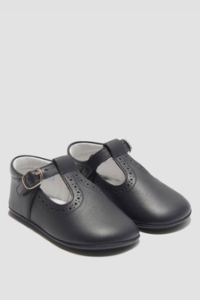 Andanines Baby Boys Blue Shoes