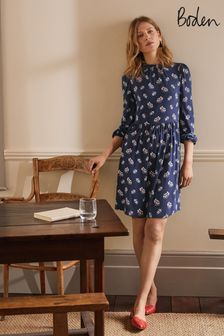 Boden Blue Clara Jersey Dress