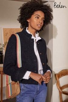 Boden Textured Wool Jacket