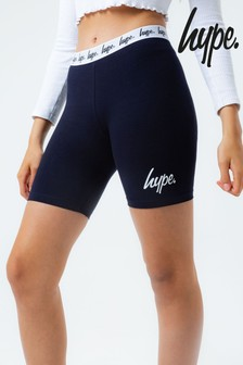 Hype. Kids Navy Cycle Shorts