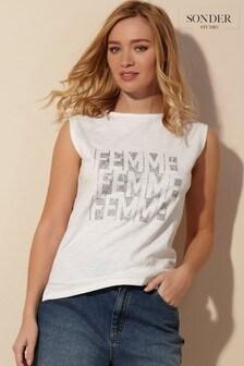 Sonder Studio Glitter Femme Vest