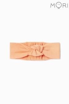 MORI Ribbed Headband In Organic Cotton & Bamboo