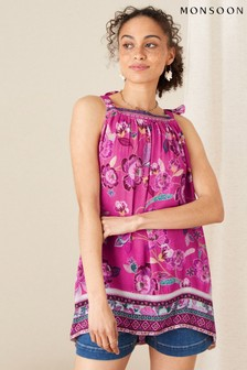 Monsoon Kitty Floral Cami in LENZING™ ECOVERO™