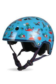 Micro Scooter Dinosaur Curved Deluxe Helmet