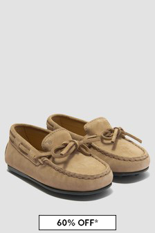 Tods Unisex Beige Loafers