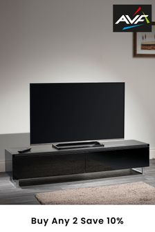 Panorama 1.6m Walnut TV Stand By AVF